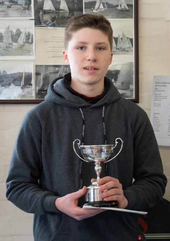 Sam Archer with the Junior Challenge Cup